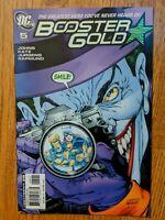Booster Gold #5 (2008, DC) VF The Joker Killing Joke Homage Cover Batgirl
