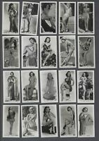 1939 Carreras Glamour Girls Tobacco Cards Complete Set of 54