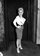Vintage Wall Art Poster Print of a Very Young Movie Star Actress Barbara Windsor
