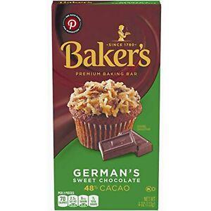 Baker's, Premium German's Sweet Chocolate Baking Bar