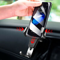 Universal Gravity Mobile Phone In Car Air Vent Mount Holder Cradle Stand dmc