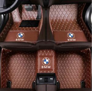 Fit BMW X5 2004-2021 Luxury Non-slip Waterproof Carpets Car Floor Mats Truck New