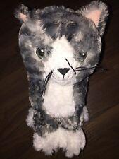 1 Stück- IKEA Katze Lilleputt Grau Weiß Schwarz Tiger Kuscheltier Plüschtier Cat