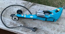 Vintage Kenner SSP Blue Monday dragster with pull cord-1972