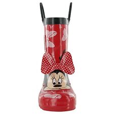 Minnie Mouse Disney Red Wellies Welly Boots New Shop Soiled Child Size 3 RRP £20