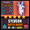 Pokemon Sword and Shield 6IV Shiny Sylveon BATTLE READY IV Can Breed w/ Ditto