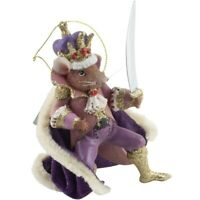 Kurt Adler Mouse King Nutcracker Suite Ballet Christmas Tree Ornament