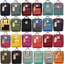 Unisex Fjallraven Kanken Backpack Travel spalla scuola borse 7L/16L/20L Xmas IT