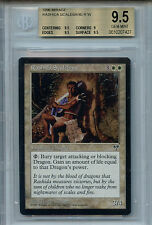 MTG Rashida Scalebane BGS 9.5 Gem Mint Mirage Magic Card Amricons 7427