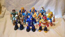 🤖 RESCUE HEROES: 10 figure Bundle job lot Mattel Fisher Price