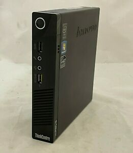 Lenovo M73 Tiny Intel i3-4130T 2.90GHz 8GB RAM 500GB HDD Win 10 - inc. VAT