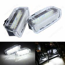 Pair VW LED Courtesy Under Side Door Light Canbus Golf GTI Sharan MK2 Touareg CC