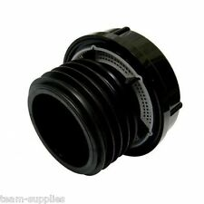 FLOPLAST EXTERNAL AIR ADMITTANCE DURGO VALVE110mm PUSH FIT SOIL PIPE BLACK AX110