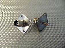 (1) Telewave 44A Thruline Wattmeter Qc44T Connector Tnc Female