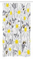 "Flowers Stall Shower Curtain Daisy Leaf Spring Time Print for Bathroom 36""x72"""