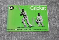 Vintage 8th Edition 4th reprint 1973 KNOW THE GAME Book - CRICKET SC VGC