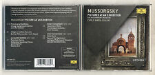 Cd MUSSORGSKY Pictures at an exhibition CARLO MARIA GIULINI 2011