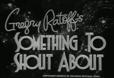 SOMETHING TO SHOUT ABOUT (1943) DVD DON AMECHE, JANET BLAIR