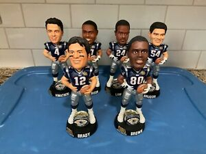 """Forever Collectibles  -  New England Patriots  8""""inch Super Bowl 38 BobbleHead's"""