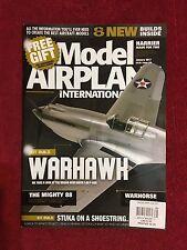 Model Airplane International  January 2017  WARHAWK!