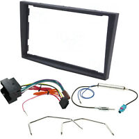 Vauxhall Corsa D Astra H Zafira B Double Din Stereo Radio Fascia Fitting Kit