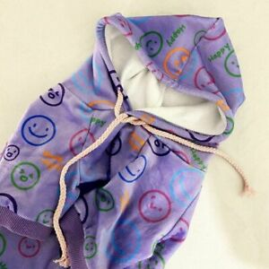 Pet Clothes For Dogs Fall Winter New Style Plus Velvet Hooded Sweater  Small Dog