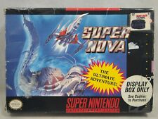 Super Nova (Super Nintendo | SNES) Authentic BOX ONLY