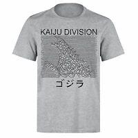 KAIJU DIVISION GODZILLA SHOCK WAVES JOY DIVISION PARODY PH203 UNISEX T-SHIRT