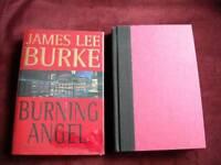 James Lee Burke - BURNING ANGEL - 1st - SIGNED