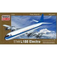 Minicraft Models 1/144 L-188 Electra Demonstrator Plastic Model Kit 14723