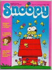 SNOOPY mensile N.4 Rizzoli 1988 peanuts calvin hobbes sansone mordillo schulz