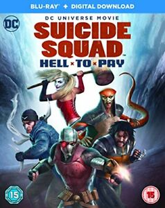 Suicide Squad: Hell To Pay [Blu-ray] [2018] [DVD][Region 2]