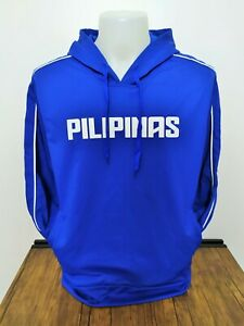 PILIPINAS HOODIE PHILIPPINES JACKET PACQUIAO PULLOVER STYLE GILAS INSPIRED - L