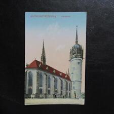 AK Lutherstadt Wittenberg-Schloßkirche-um 1940