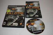 Killzone Sony Playstation 2 PS2 Video Game Complete