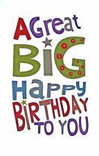 WORDPLAY'S A GREAT BIG HAPPY BIRTHDAY CARD 1STP&P FUNKY + FUN