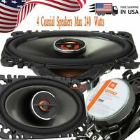"""1086H Pair Gravity 4.0/"""" inch 2-Way 230 Watts Coaxial Car Speakers CEA Rated"""