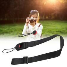 Quick Release DSLR Camera Cuff Wrist Belt &Leash Shoulder Strap ABS Buckle