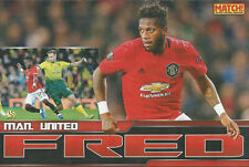MATCH!-POSTER 2020-MANCHESTER UNITED & BRAZIL-FRED