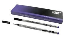 Montblanc 2 Recharges pour Rollerball (m) Amethyst Purple