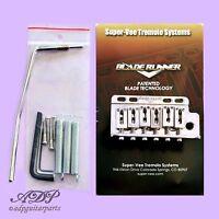 Tremolo Strat Super-Vee BladeRunner pour Vintage 6 trous Nickel