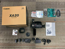 Canon XA20 HD Professional Camcorder With Extra Batteries and Tiffen UV Filter
