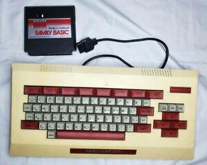 Nintendo Famicom Family Basic HVC-007 untested