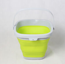 10L Folding Collapsible Silicone Bucket Outdoor Barrel Fishing Camping Car