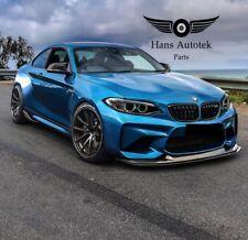 CARBON FIBER FRONT LIP BUMPER MTC DESIGN STYLE FOR BMW M2 F87 ( 2016-UP ) +HOT+