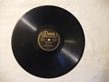 """FRED WARING, CHRISTMAS, DECCA #18301.  AVE MARIA / THE ROSARY, 10"""", 78RPM, EX"""