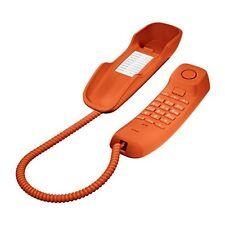 TELEFONO CABLE GIGASET-SIEMENS DA-210 NARANJA