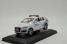 RARE ! Audi Q7 Belgium Police Custom Made 1/43