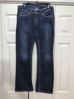Silver Jeans Pioneer Boot Cut Women's Blue Jeans - Size 28 x 33