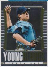 2013 Select Youngbloods Insert #YB8 Matt Moore Tampa Bay Rays Baseball Card